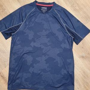 Men's izod advantage performance stretch shirt L
